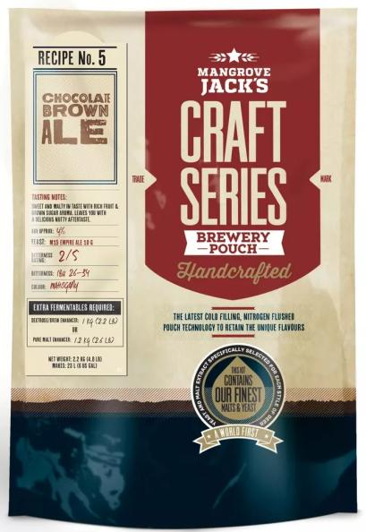 Chocolate Brown Ale - Mangrove Jack's - 3,4 kg