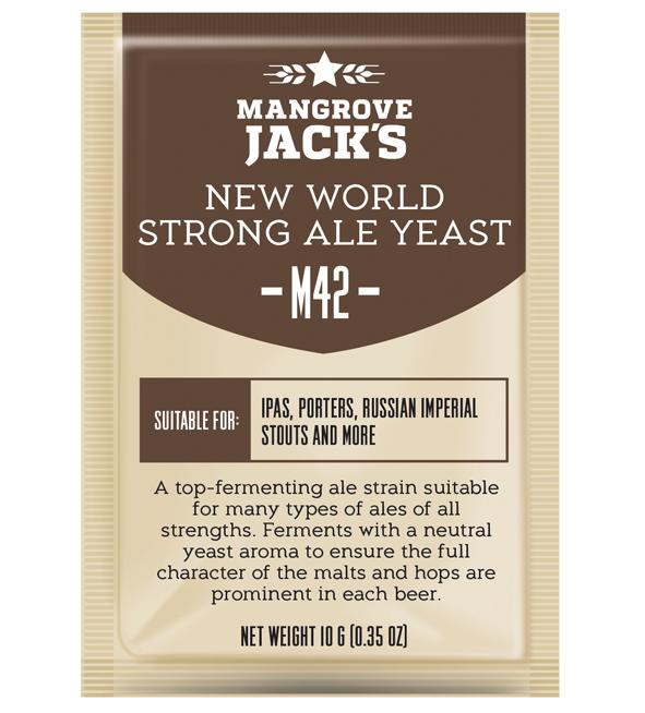 Mangrove Jack's M42 New World Strong Ale - 10g