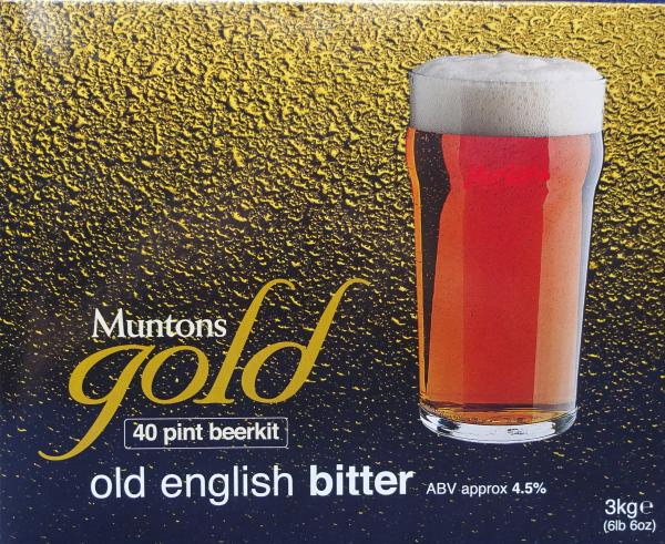 Muntons Alt-Englisches Mildes (Old english bitter), 3 Kg
